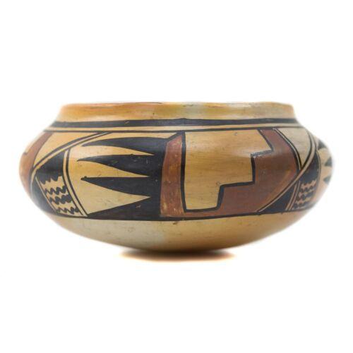 """C. 1920 Hopi Polychrome Jar, 2.5"""" X 5.5"""""""