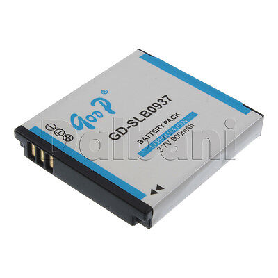GD-SLB0937 New Rechargeable Camera Battery Li-ion 3.7V 800 mAh for Samsung