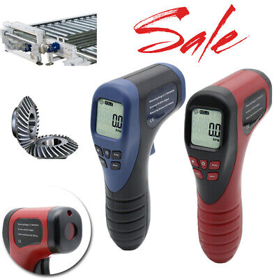Handheld Digital Lcd Photo Tachometer Laser Non-contact Motor Speed Meter Tester
