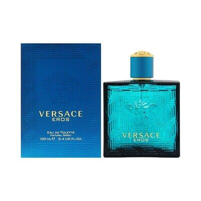 Versace Eros by Gianni Versace 3.4oz 100ml EDT for Men New In Box NOT SEALED