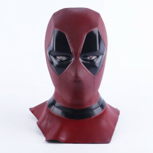 2018 Deadpool Mask Breathable Full Face Halloween Cosplay Prop Hood Helmet