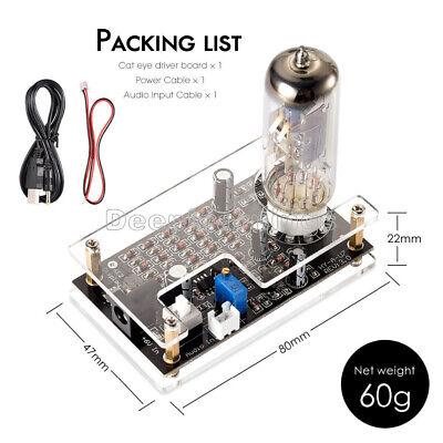 Magic Eye Em87 6e2 Preamp Tube Audio Level Indicator Vu Meter Driver Board Case