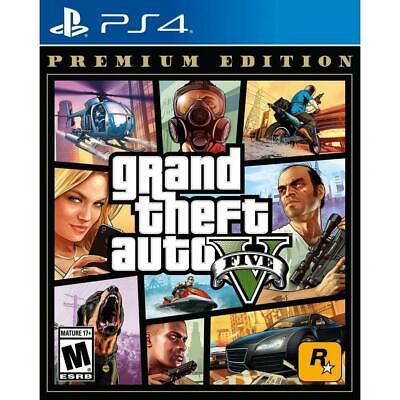 Grand Theft Auto V Premium Edition PS4 Playstation 4  English + Spanish
