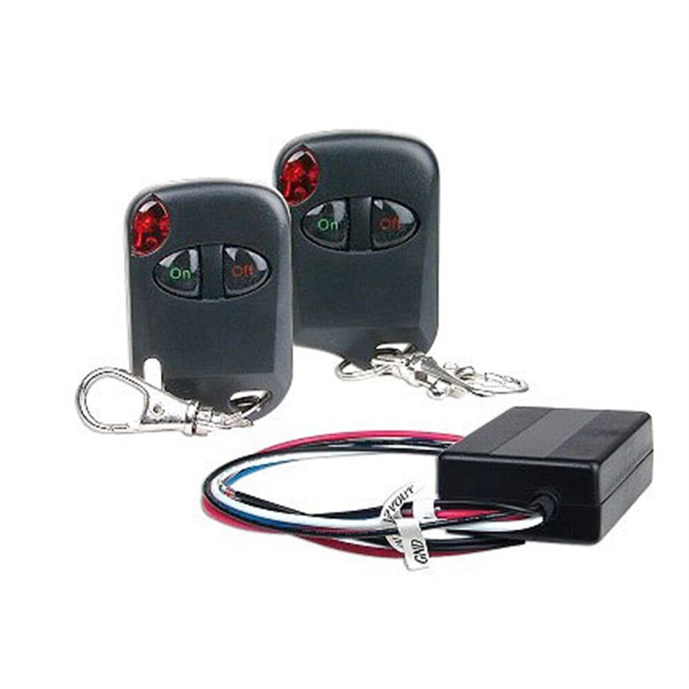 New heavy duty universal volt v remote control kit