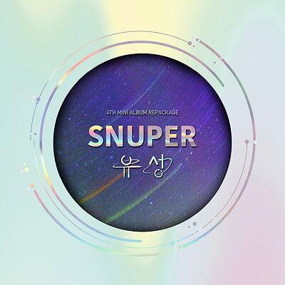 Snuper - (4th Mini Album) (Repackage)CD Photocard Photobook Korea Import New CD