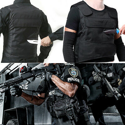 UK Anti Stab Vest Stabproof Anti-knifed Security Defense Body Armour Men Vest