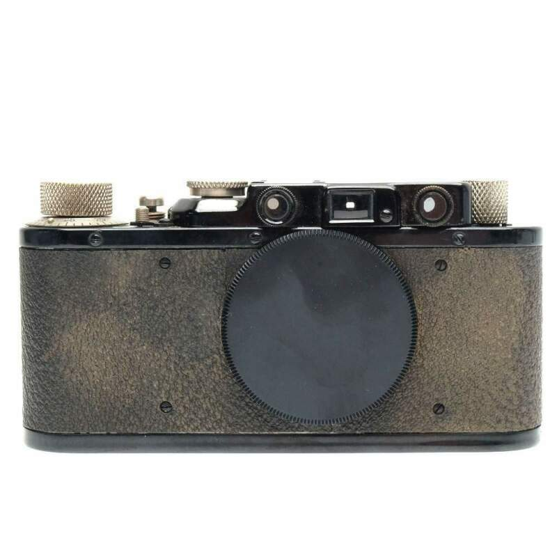 Leica II Film Rangefinder Camera Body (Black/Nickel)