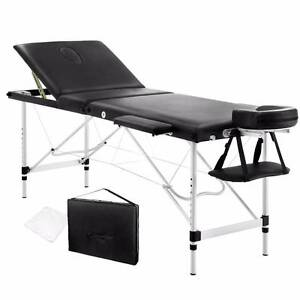 Portable Massage / Waxing / Beauty Table Bed | Aluminium 3-Fold Royston Park Norwood Area Preview