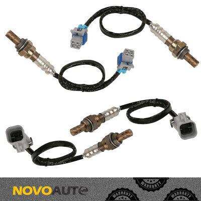 4pcs Upstream + Downstream O2 Oxygen Sensor for Chevy Silverado 1500 2500 Tahoe