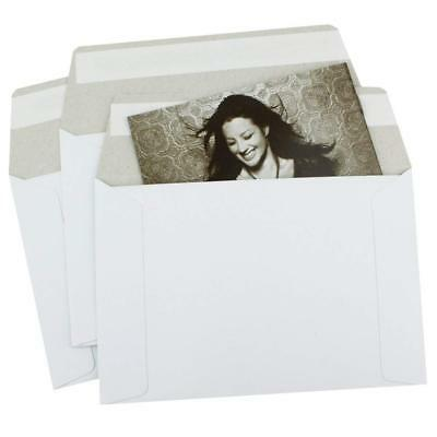 Semi-rigid Photo Self Sealing Flat Mailer Envelopes Various Sizes And Quantity