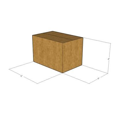 50 New Corrugated Boxes - 6 X 4 X 4 - 32 Ect
