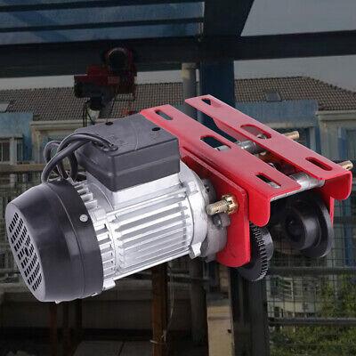 Hoist Lift Trolley Overhead Winch Crane Flexible Rotationhandle Switch 110v New