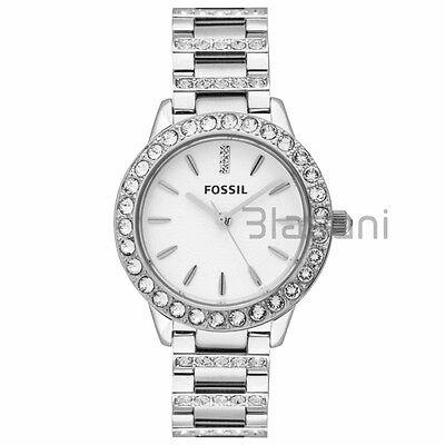 Fossil Original ES2362 Women's Jesse Silver Stainless Steel Watch 34mm