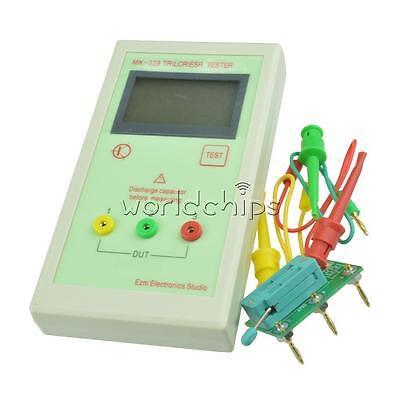 Mk328 Lcr Esr Tester Transistor Inductance Capacitance Resistance Meter Portable