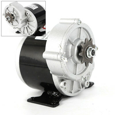 24 V Electric Vehicle Geared Motor 2 Poles Pure Copper Wire 350w 300rpm 18.4 A