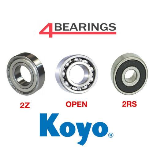 KOYO Bearing 6000 - 6307 Series - Open - 2RS - 2Z - C3 - *Choose your size*
