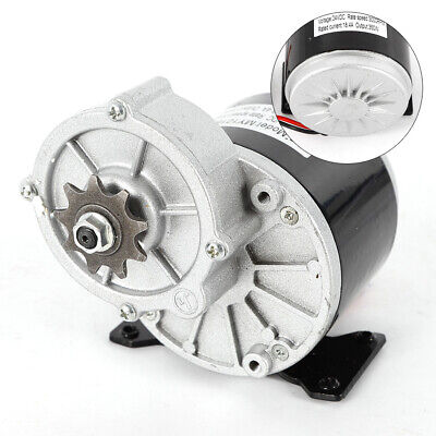 Electric Vehicle Geared Motor 24v 350w 3000 Rpm 18.4a Model My1016z 2 Poles Us