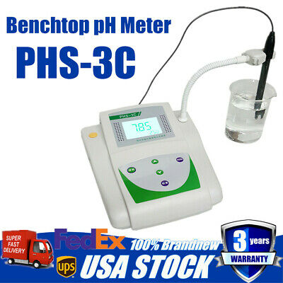 Lab Instrument Benchtop Precision Ph Meter Tester Digital Display Ph Temp Mv