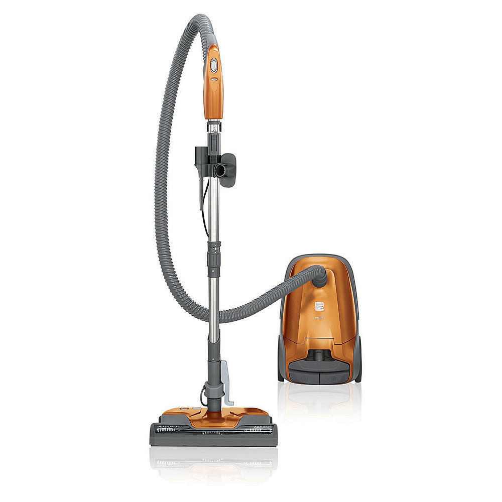 New Kenmore 81214 200 Series Bagged Canister Vacuum - Orange