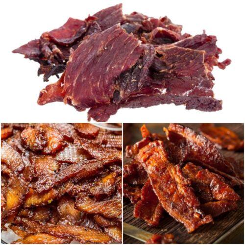 Gourmet Brisket Beef Jerky, Turkey Jerky or Bacon Jerky | 25 Choices