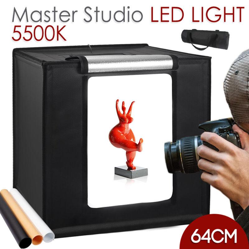 Photo Light Room Photo Studio Photography Lighting Tent Kit 3 Backdrop Cube Box