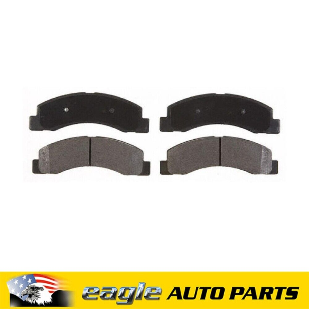 For 1999-2004 Jeep Grand Cherokee Front,Rear  Super Duty Brake Pads