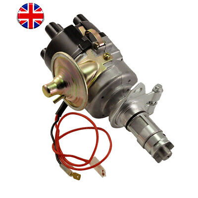 New 45D Points Distributor W// Sport Coil /& Plug Wires All Genuine Lucas for MGB