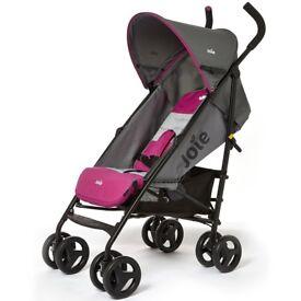 joie pink stroller
