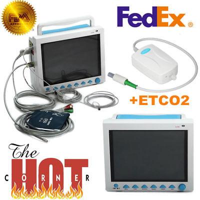 Contec Fda Portable Vital Sign Patient Monitor Multiparametercapnography Etco2