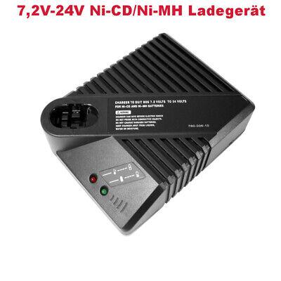 7,2V-24V Akku Ladegerät für Bosch 2607335014 2607335275 GSB12VES GSR12VE BAT0