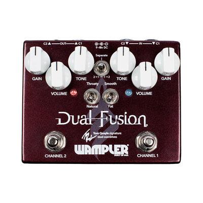 Wampler Dual Fusion Overdrive Pedal (Tom Quayle Signature)