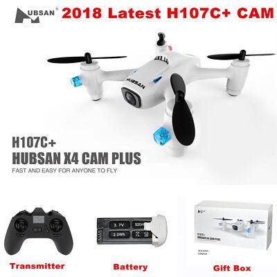 Hubsan X4 Plus H107C+ RC Quadcopter Drone 2.4G 6Axis Headless 720P Mini RTF US