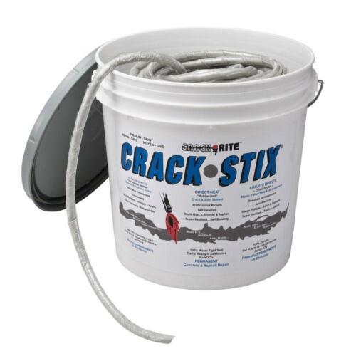 Crack-Stix 16 Lb. 125 Ft. Medium Gray Permanent Concrete Joint And Crack Filler
