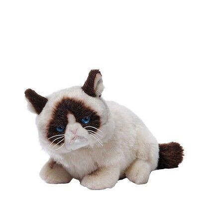Grumpy Cat Lying Down Kuschelkatze Stoff Katze Gund Plüsch