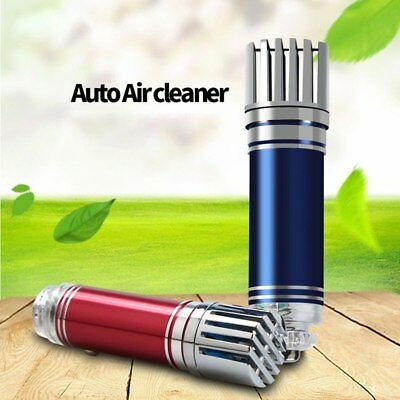 New 2019 Mini Auto Car Air Purifier Ionizer - Odor & Smoke Remover Just Plug In