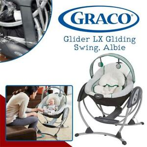 Graco Glider LX Gliding Swing, Albie Condtion: Lightly Used