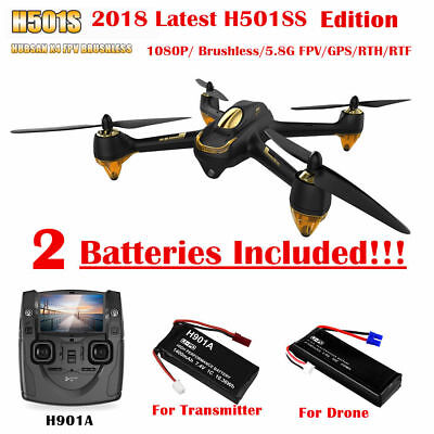 Hubsan H501S X4 Drone 5.8G FPV Brushless RC Quadcopter 1080P Follow Me GPS RTF
