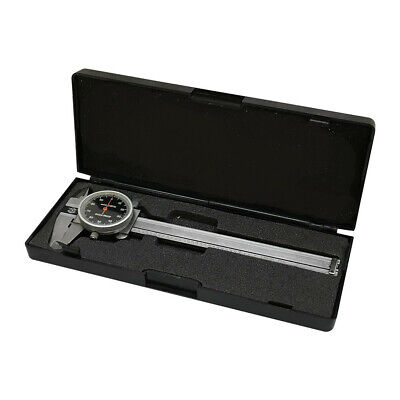 Black - 4 Way Dial Caliper 4 Stainless Steel Shock Proof 0.001