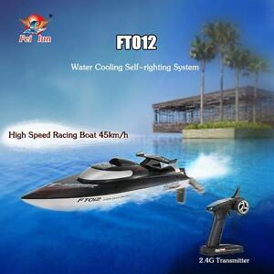 Brandneu Feilun FT012 2.4G Brushless 45 km/h Wasserkühlung RC-Rennboot P4B1