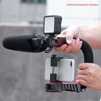 C/U shape Bracket Handle Stabilizer Grip Holder for Canon Nikon DSLR Camera W7T2