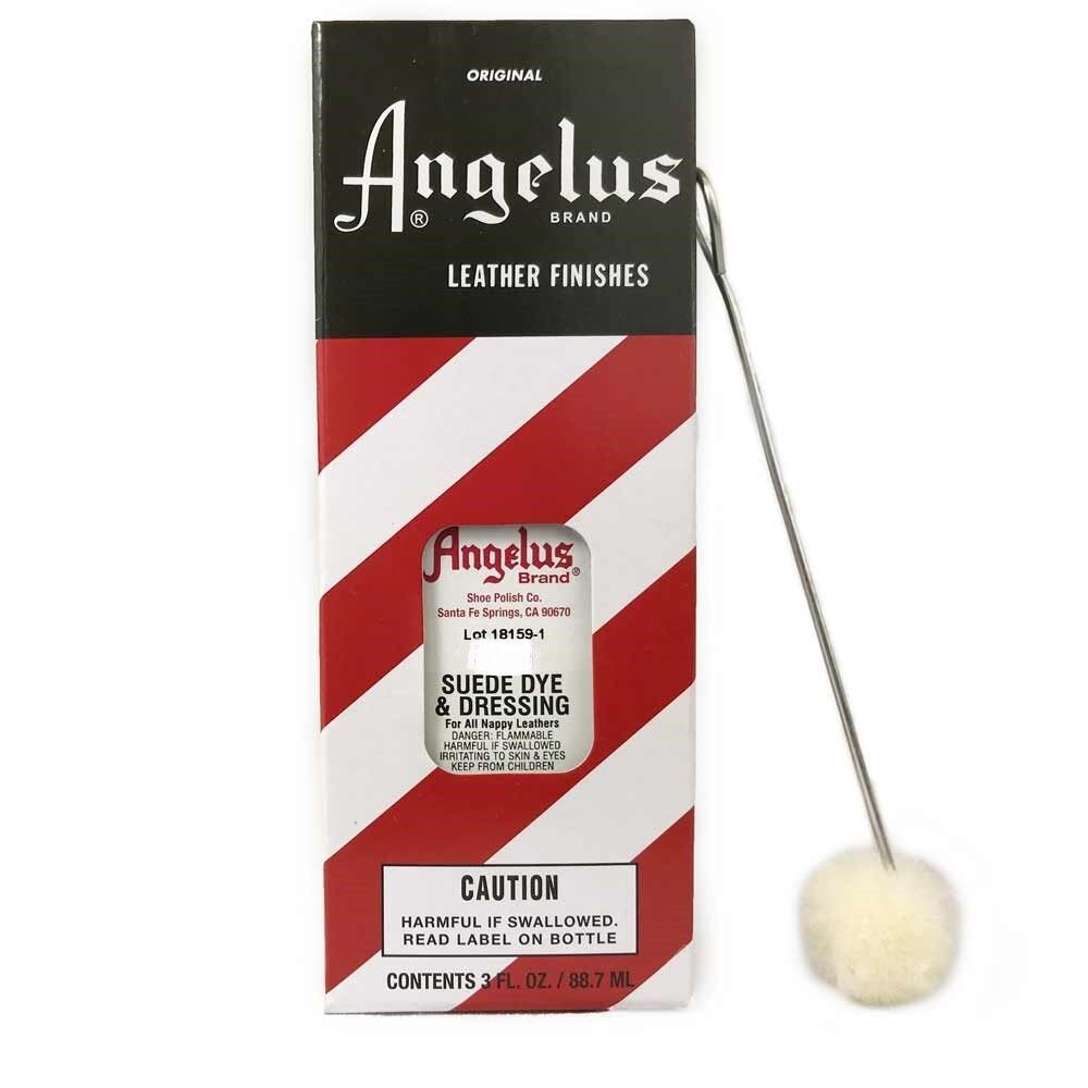 Angelus Suede Dye 3oz All Colors Crafts