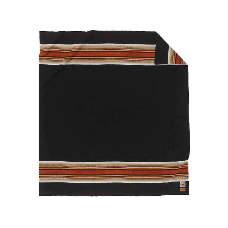Pendleton National Park Queen Bed Blanket - Acadia Black