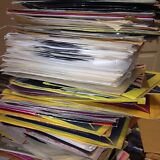 """Nice Lot Of 50 45's Records Jukebox 7"""" 45 rpm"""