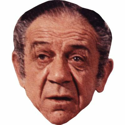 Sid James Celebrity Mask, Card Face and Fancy Dress Mask