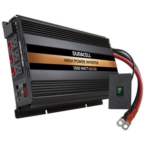 Duracell Power 3000 W High Powered Inverter  DRINV3000
