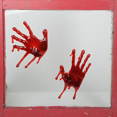 3D Bloody Hands Scary Zombie Indoors Outdoors Halloween Party Decoration  - Zombie Hands Halloween Decorations