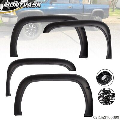 Textured For 1994-2001 Dodge Ram 1500 2500 3500 Factory Style Wheel Fender Flare