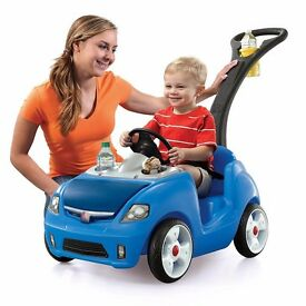 Childrens push car alternative to trike