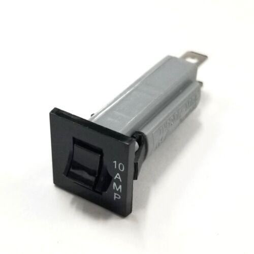 NEW 10 Amp Panel Mount Pushbutton Circuit Breaker ~ Zing Ear ZE-800-10 10A