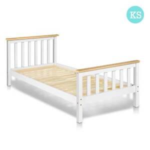 SALE:  Pine Wood King Single Size Bed Frame Melbourne CBD Melbourne City Preview